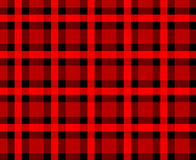 Fond rouge de plaid Image stock