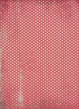 Fond rouge de point de polka Photographie stock