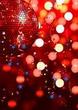 Fond rouge de réception Photo stock