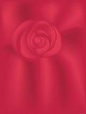 Fond rouge de Rose de velours Image libre de droits