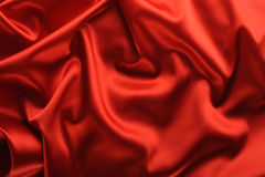 Fond rouge de satin image stock