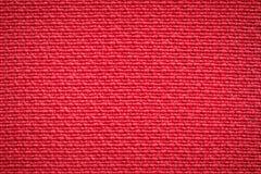 Fond rouge de textile de fibre Images stock
