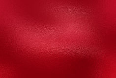 Fond rouge de texture d'aluminium Photos libres de droits