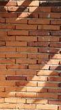Fond rouge de texture de mur de briques Images libres de droits