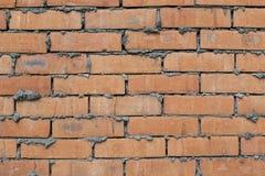 Fond rouge de texture de mur de briques photos stock