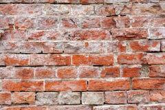 Fond rouge de texture de mur de briques de vintage photo libre de droits
