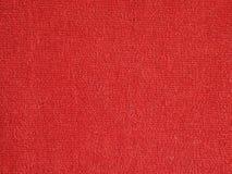 Fond rouge de tissu Photographie stock libre de droits