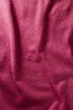 Fond rouge de tissu Photographie stock