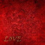 Fond rouge de velours Photo libre de droits