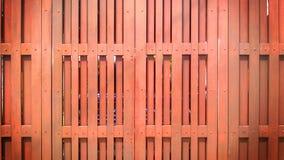 Fond rouge en bois de porte Photos libres de droits