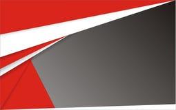 Fond rouge et noir blanc géométrique abstrait Photo stock