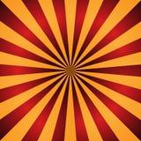 Fond rouge et orange de rayon de soleil Rayons radiaux illustration abstraite de vecteur illustration stock