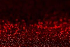 Fond rouge foncé d'abrégé sur scintillement Photos libres de droits