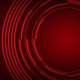Fond rouge foncé de couverture de présentation d'affaires Photos libres de droits