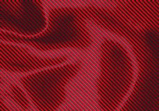 Fond rouge foncé tordu de texture de Kevlar - illustration illustration de vecteur