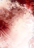 Fond rouge grunge Photo stock