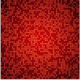 Fond rouge lumineux de mosaïque Photos libres de droits