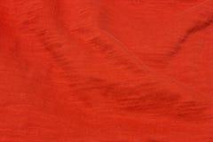 Fond rouge lumineux de tissu Photo libre de droits