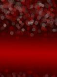 Fond Rouge-noir d'abrégé sur bokeh Images libres de droits