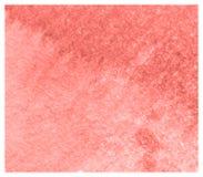 Fond rouge-orange d'aquarelle de fiesta colorée abstraite photographie stock libre de droits