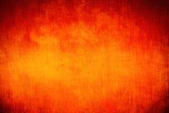Fond rouge, orange, jaune Photo libre de droits