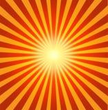 Fond rouge radial Images libres de droits