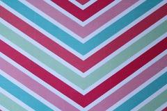 Fond rouge, rose, bleu et vert de flèche d'été Photographie stock
