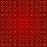 Fond rouge sans couture de point de polka Photographie stock libre de droits