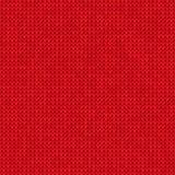 Fond rouge tricoté Images libres de droits