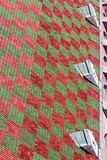 fond Rouge-vert Photo stock