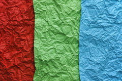 Fond rouge, vert et bleu de texture Photo libre de droits