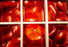 fond rouge vibrant Image stock