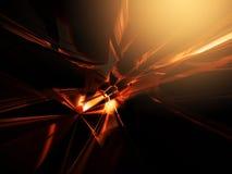Fond rougeoyant abstrait pour le web design Images stock