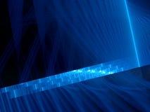Fond rougeoyant bleu d'ordre d'ADN illustration de vecteur