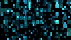 Fond rougeoyant de places - boucle, bleue illustration libre de droits