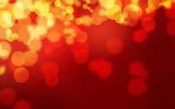 Fond rougeoyant rouge puissant de luxe de Bokeh photos libres de droits
