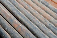 Fond rouillé d'abrégé sur pipe Image libre de droits