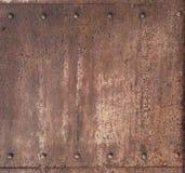 Fond rouillé de punk de vapeur en métal image libre de droits