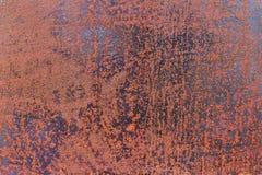 Fond rouillé de texture en métal pour la conception Photographie stock libre de droits