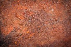 Fond rouillé de texture en métal pour la décoration extérieure intérieure photo libre de droits