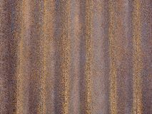 Fond rouillé de texture de surface de plat de zinc image stock