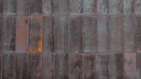 Fond rouillé en métal Image libre de droits