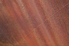 Fond rouillé en métal La texture s'est rouillée bateau abandonné image stock