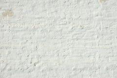 Fond rustique approximatif inégal inégal blanchi de rétro mur de briques images libres de droits