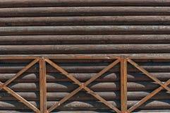 Fond rustique en bois superficiel par les agents Image libre de droits