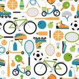 Fond sain de modèle de sport de vecteur Photo libre de droits