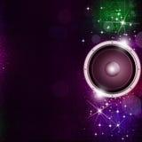 Fond sain de musique de Speakek illustration libre de droits