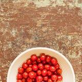 Fond sain de nutrition de tomates photographie stock libre de droits