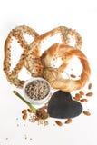Fond sain de petit déjeuner Photo stock