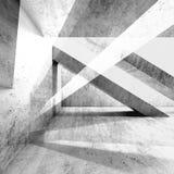 Fond sale abstrait 3d de mur en béton illustration libre de droits